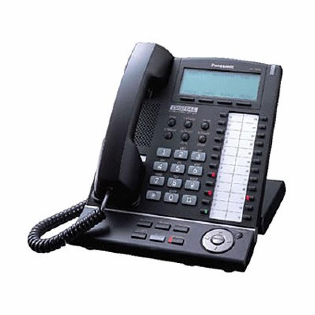 Телефон KX-T7636 Black PANASONIC (KX-T7636UA-B)