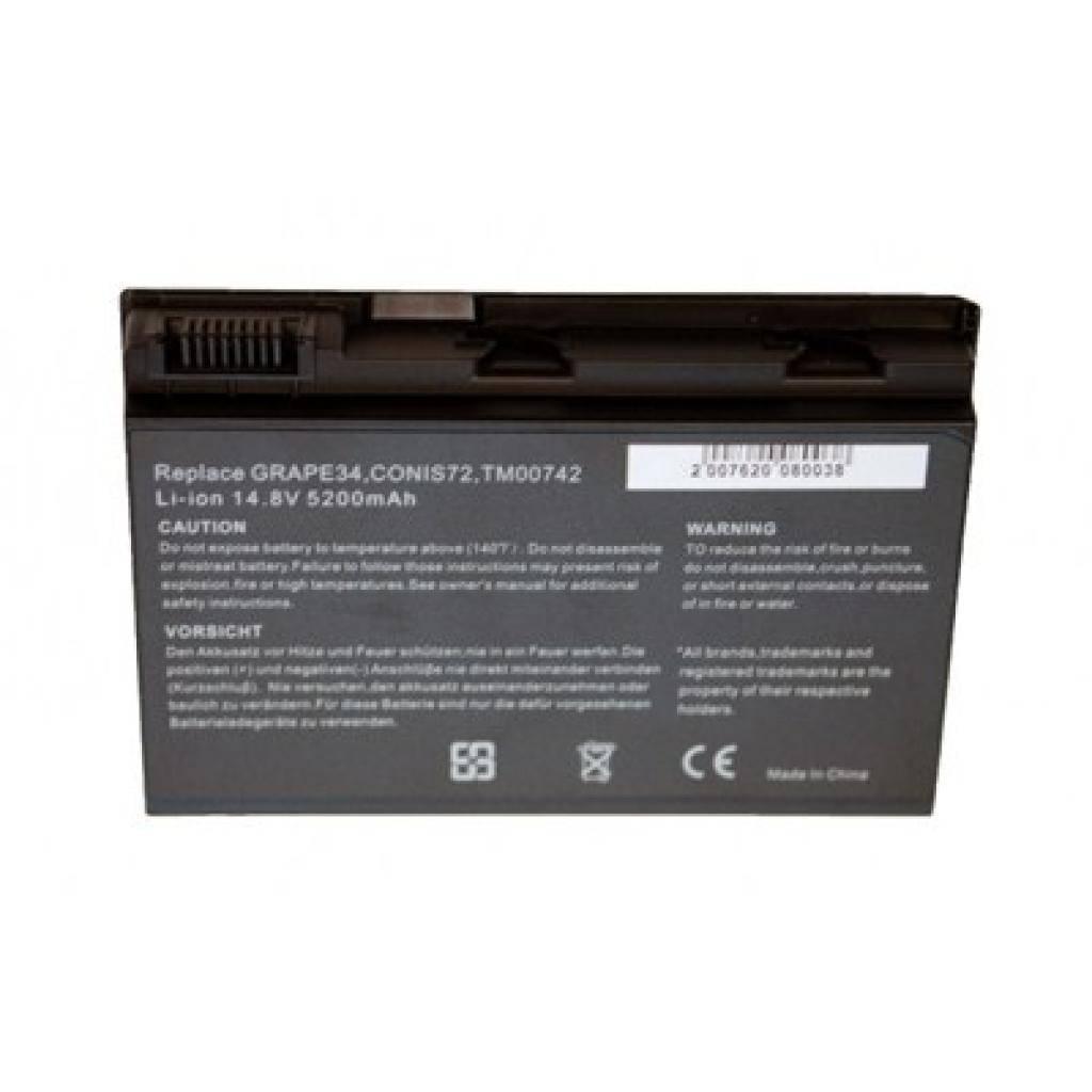 Аккумулятор для ноутбука Acer TM00741 Drobak (100115)