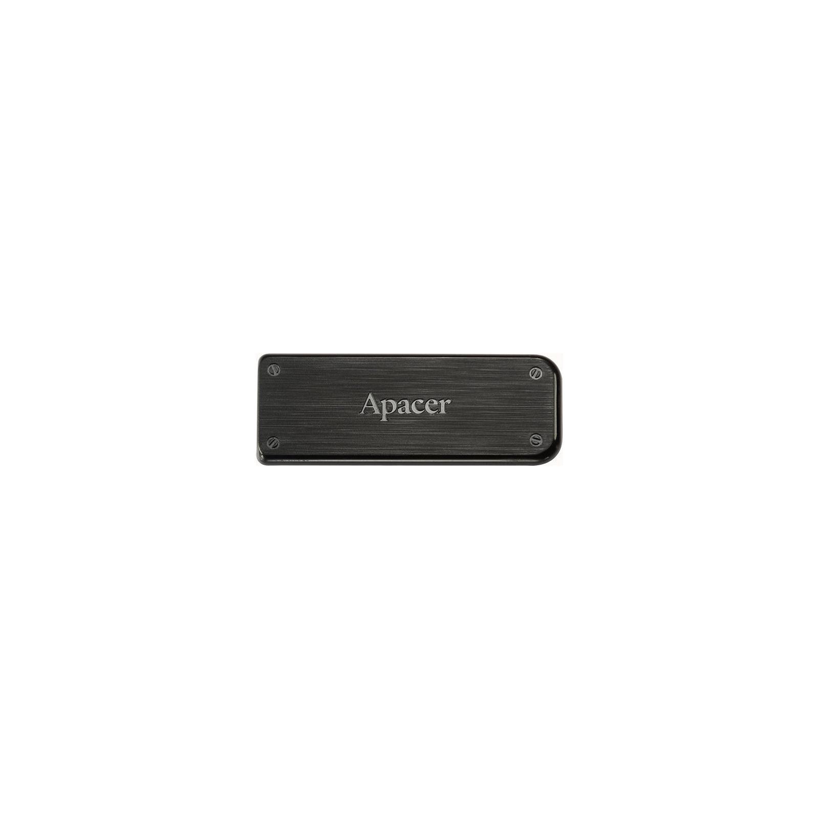 USB флеш накопитель Handy Steno AH325 black Apacer (AP8GAH325B-1)