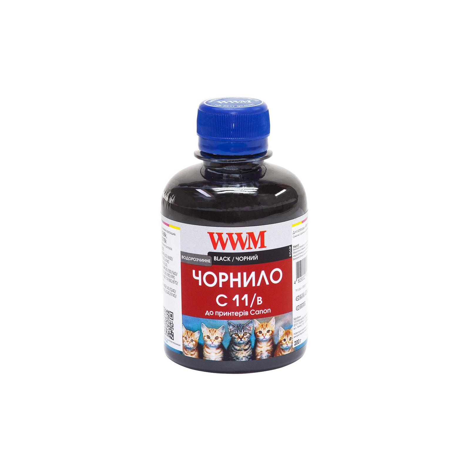 Чернила WWM CANON CLI521/426 Black (C11/B)