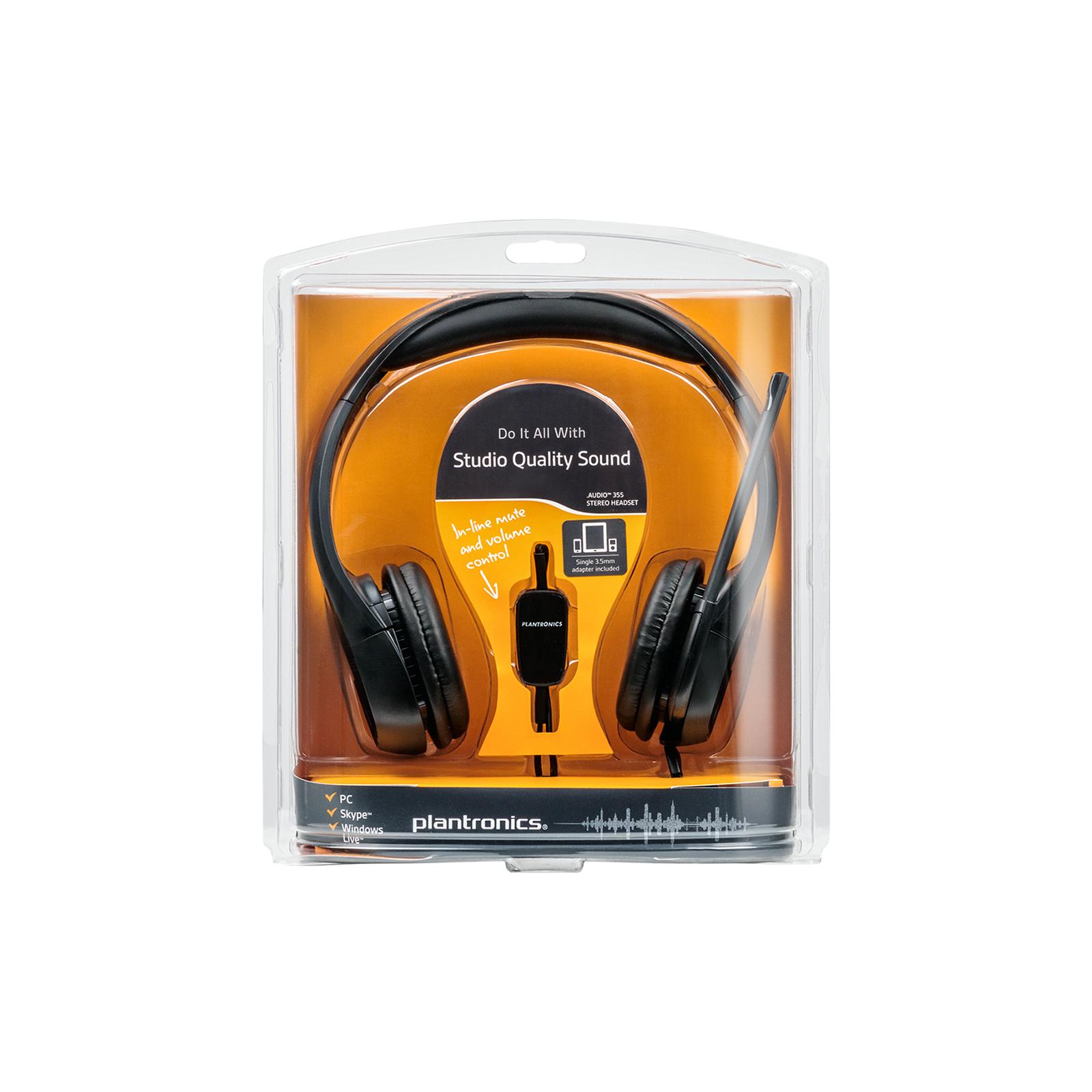 Наушники Plantronics Audio 355 (79730-05) изображение 7