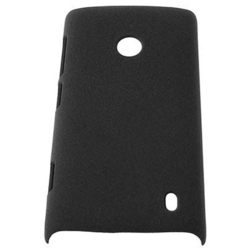 Чехол для моб. телефона Drobak для Nokia 520 Lumia /Shaggy Hard/Black (216366)