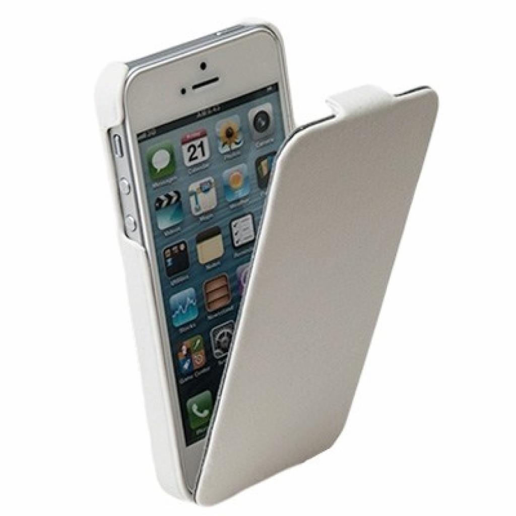Чехол для моб. телефона Drobak для Apple Iphone 5 /Business-flip White (210232) изображение 2