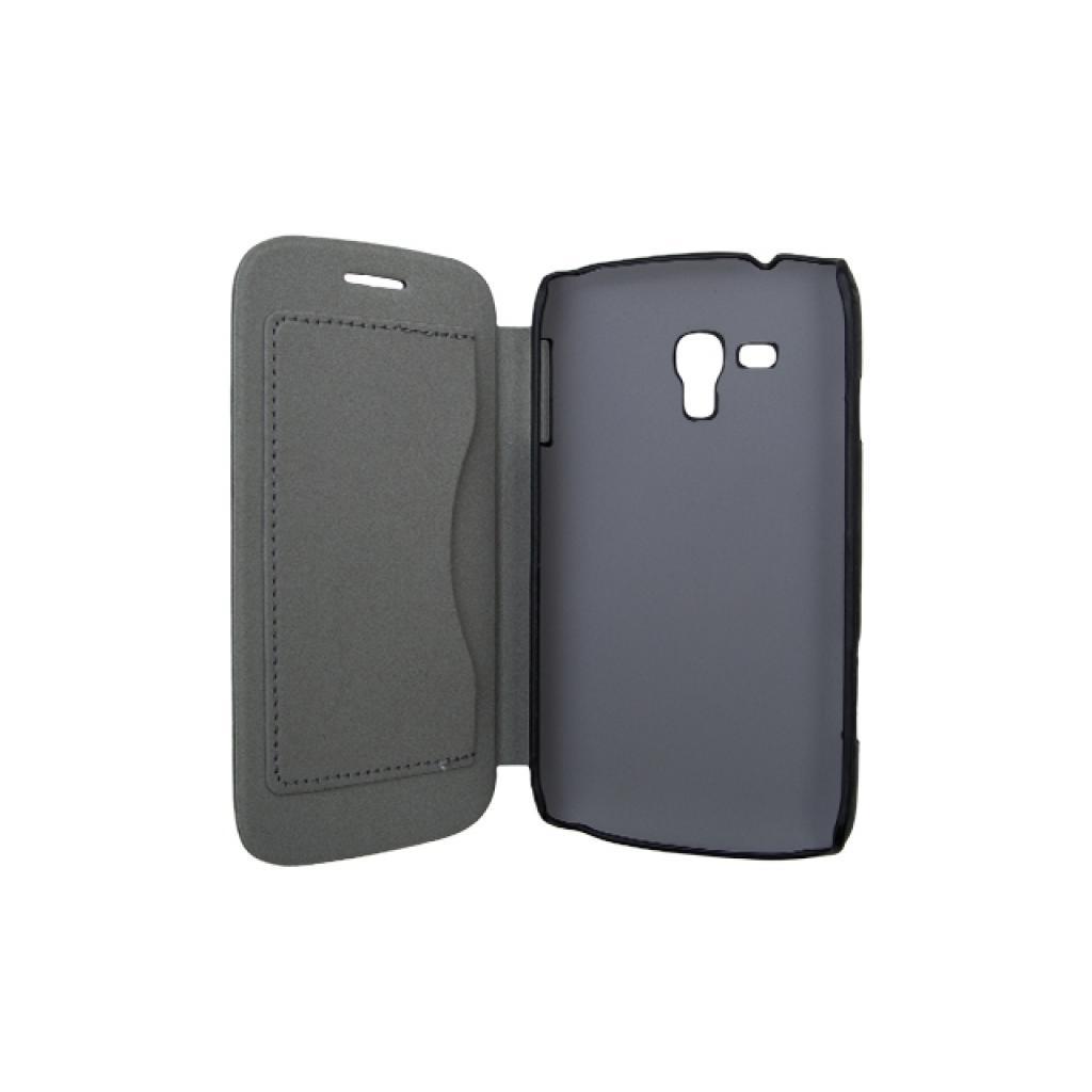 Чехол для моб. телефона Drobak для Samsung I8262 Galaxy Core /Book Style/Black (215278) изображение 2