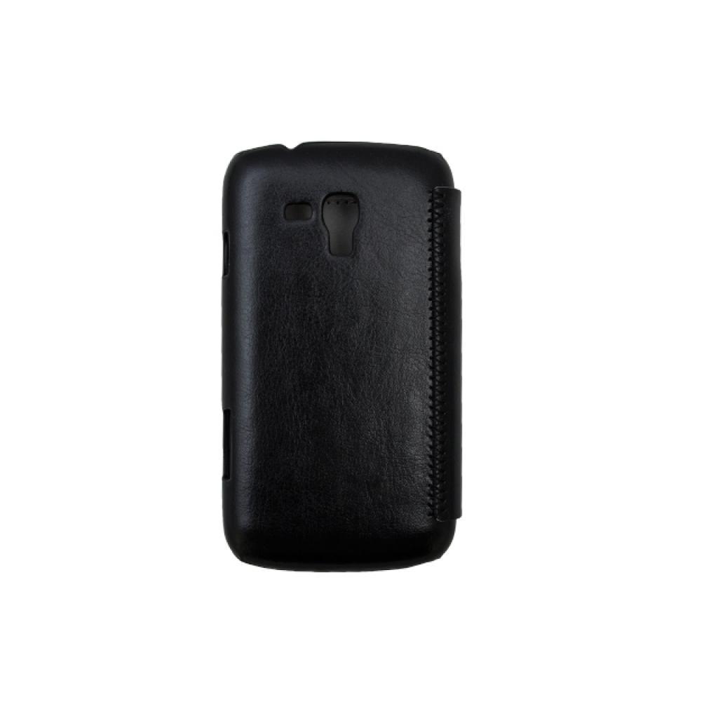 Чехол для моб. телефона Drobak для Samsung I8262 Galaxy Core /Book Style/Black (215278) изображение 3