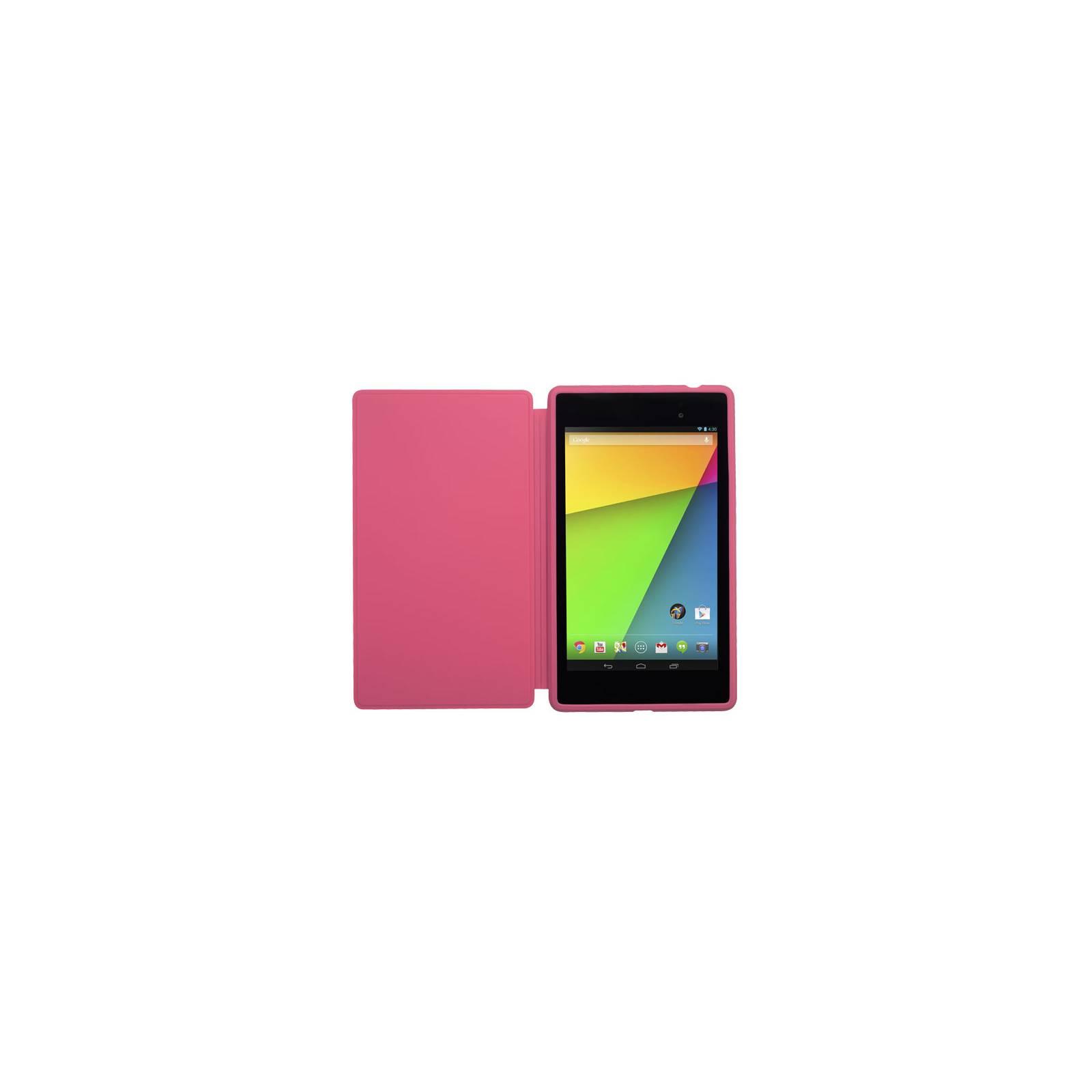 Чехол для планшета ASUS Nexus 7 2013 TRAVEL COVER V2 PINK (90-XB3TOKSL001P0-) изображение 3