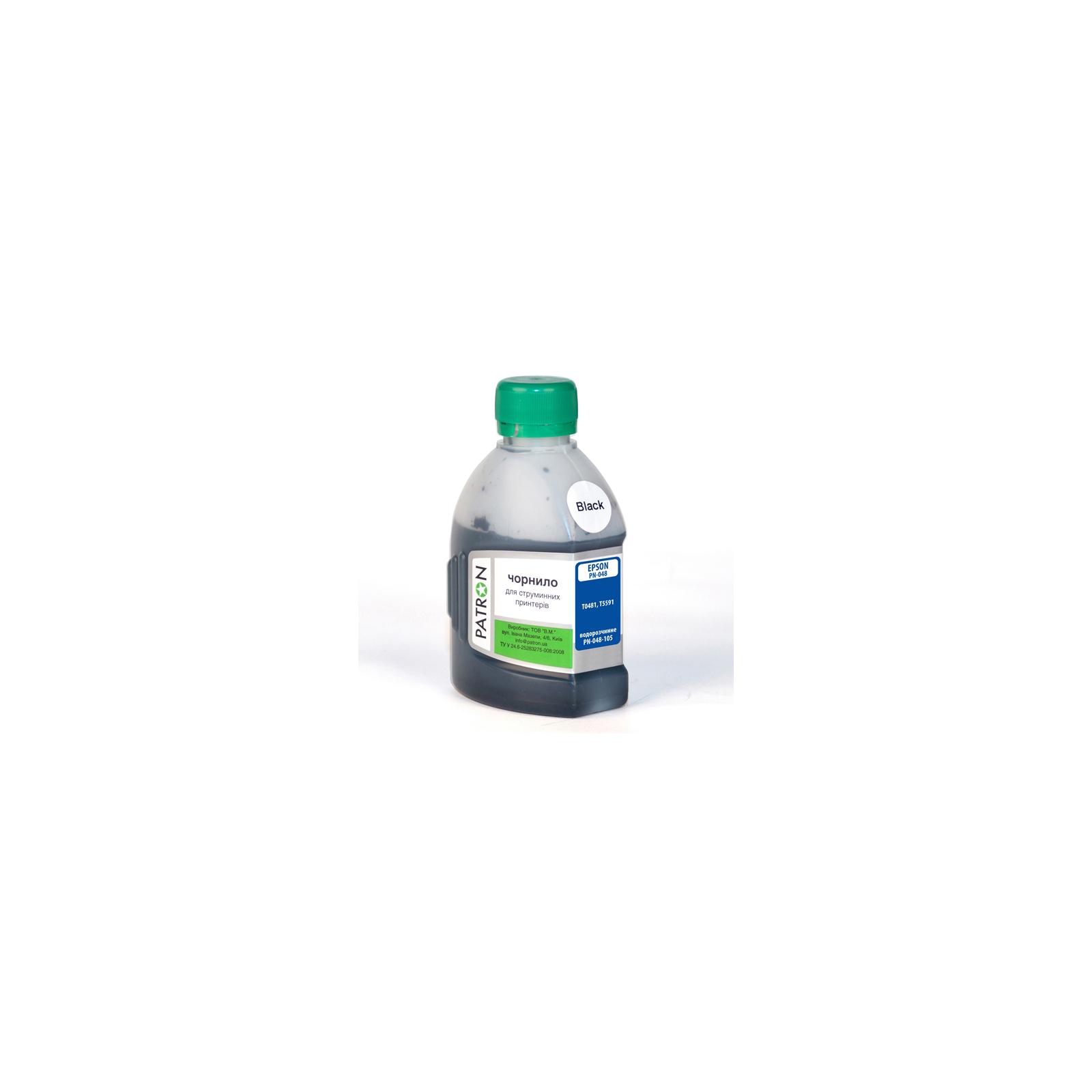 Чернила PATRON EPSON R220/180г BLACK/T0481/PN-E048-105 (I-PN-ET0481-180-B)