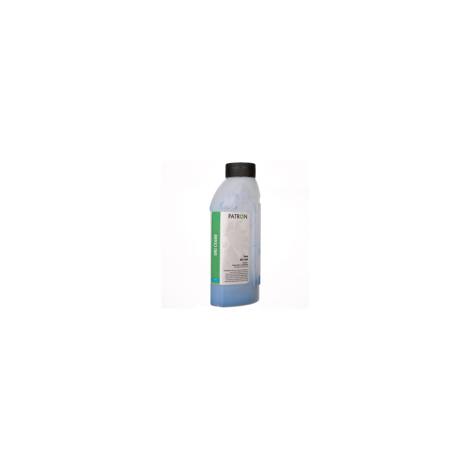 Тонер PATRON OKI C5600 CYAN 50г (T-PN-OC5600-C-050)