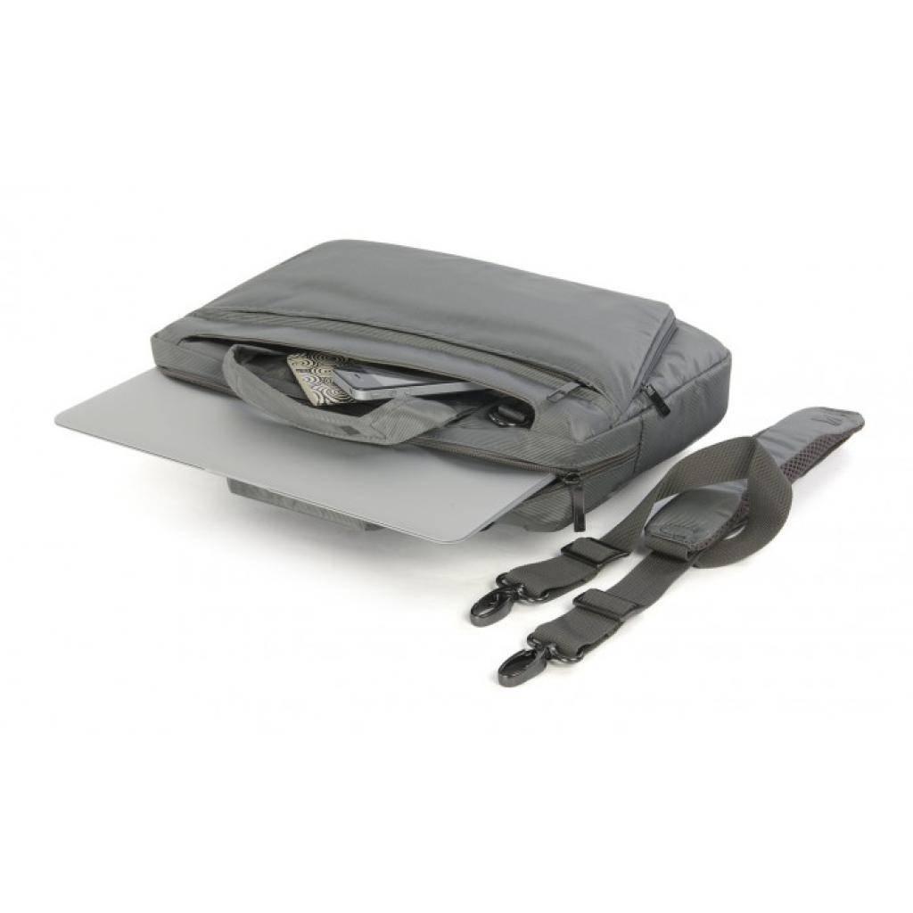 """Сумка для ноутбука Tucano 13"""" Expanded Work Out/Grey (BEWO13-G) изображение 4"""
