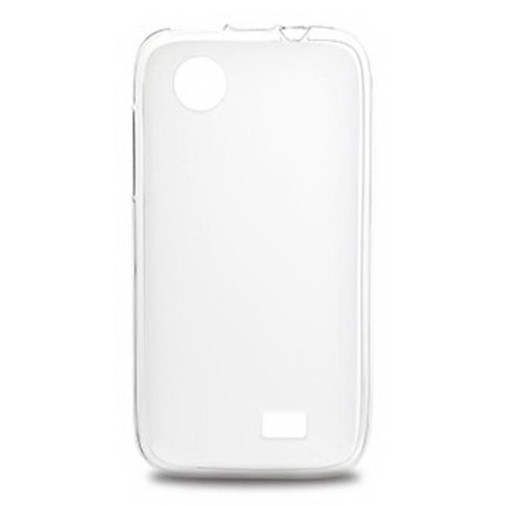 Чехол для моб. телефона Drobak для Lenovo A369 (White Clear)Elastic PU (211430)