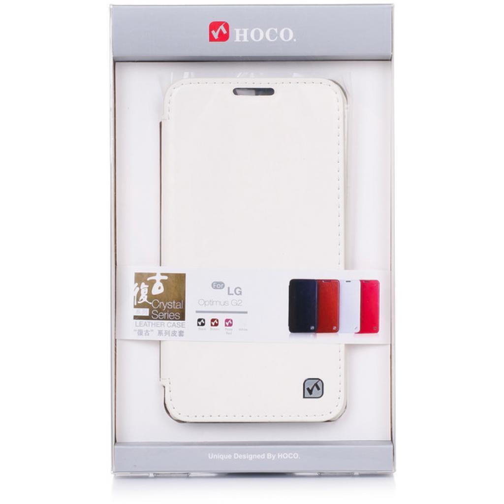 Чехол для моб. телефона HOCO для LG D802 Optimus G2 /Crystal (HL-L001 White)