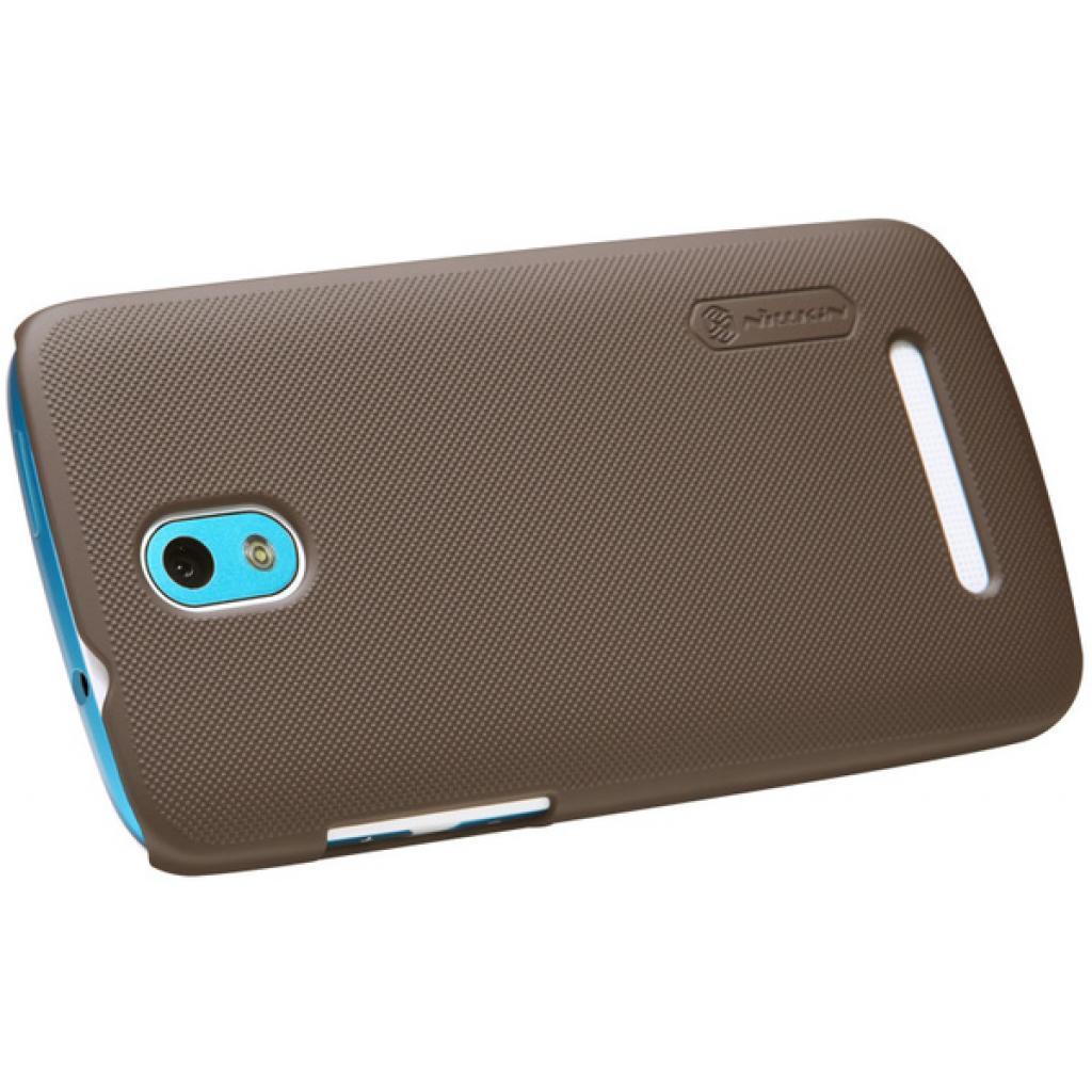 Чехол для моб. телефона NILLKIN для HTC Desire 500 /Super Frosted Shield/Brown (6076978) изображение 2