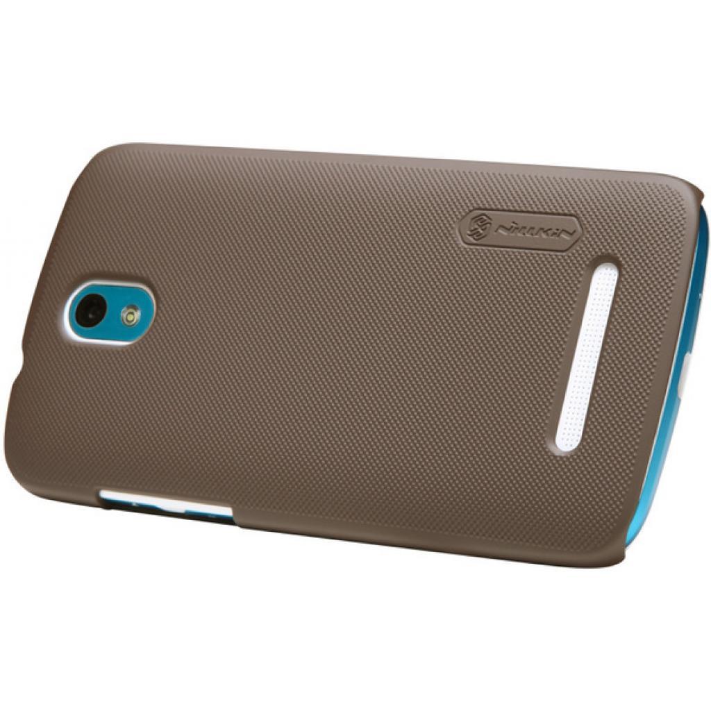 Чехол для моб. телефона NILLKIN для HTC Desire 500 /Super Frosted Shield/Brown (6076978) изображение 3