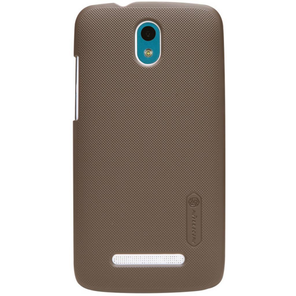 Чехол для моб. телефона NILLKIN для HTC Desire 500 /Super Frosted Shield/Brown (6076978)