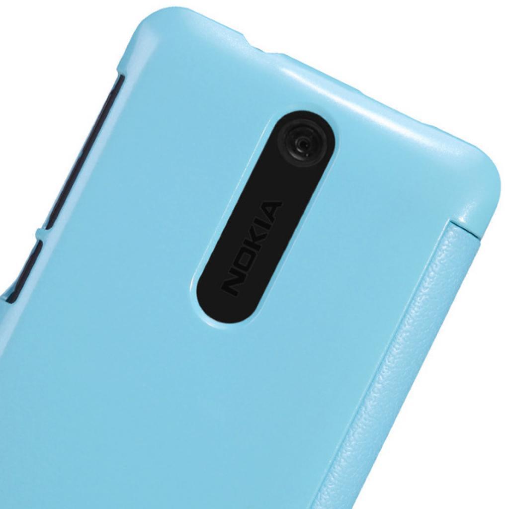 Чехол для моб. телефона NILLKIN для Nokia 501 /Fresh/ Leather/Blue (6076875) изображение 2