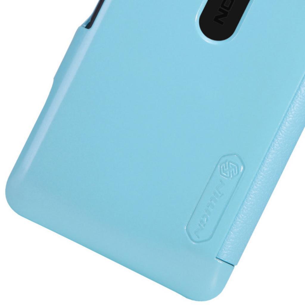 Чехол для моб. телефона NILLKIN для Nokia 501 /Fresh/ Leather/Blue (6076875) изображение 3
