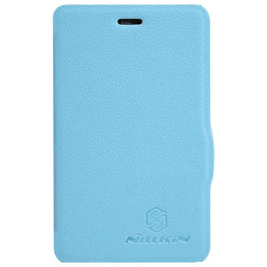 Чехол для моб. телефона NILLKIN для Nokia 501 /Fresh/ Leather/Blue (6076875)