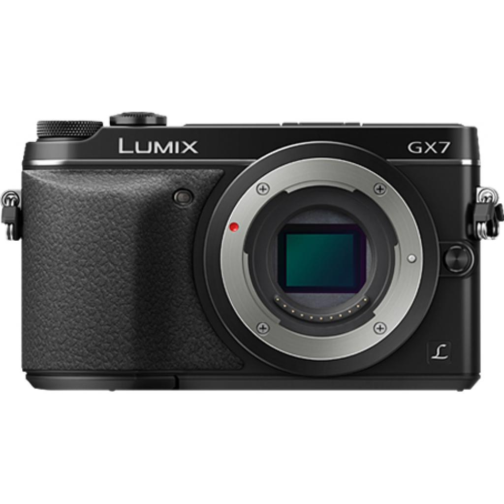 Цифровой фотоаппарат PANASONIC DMC-GX7 Kit 20mm Black (DMC-GX7CEE-K) изображение 7