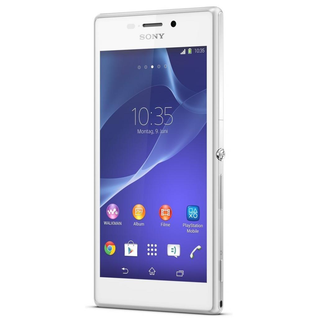 Мобильный телефон SONY D2305 White (Xperia M2) (1280-7395) изображение 5