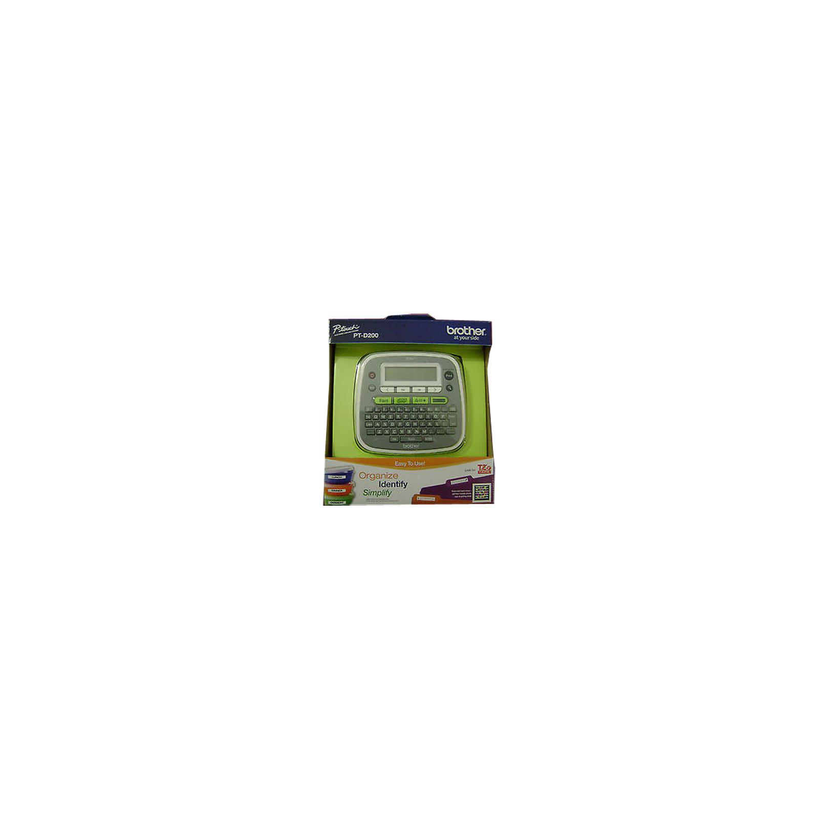 Принтер этикеток Brother P-Touch PT-D200 (PTD200R1) изображение 9