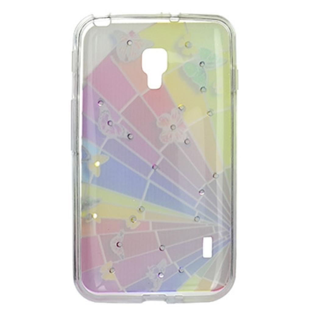 Чехол для моб. телефона для LG Optimus L7 Dual P715 (Rainbow) Cristall PU Drobak (211591) изображение 2