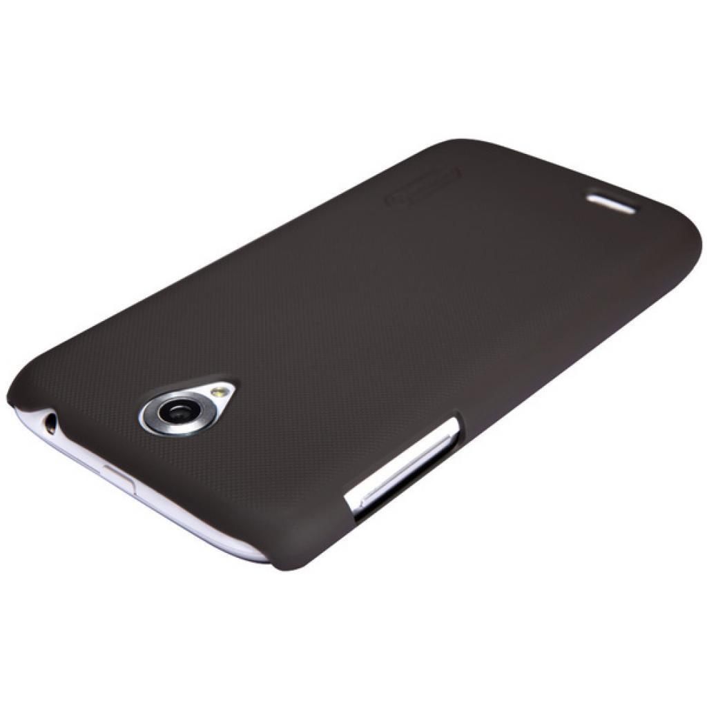 Чехол для моб. телефона NILLKIN для Lenovo A859 /Super Frosted Shield/Brown (6154910) изображение 3