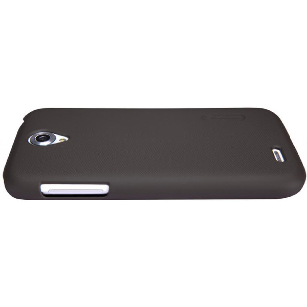Чехол для моб. телефона NILLKIN для Lenovo A859 /Super Frosted Shield/Brown (6154910) изображение 4