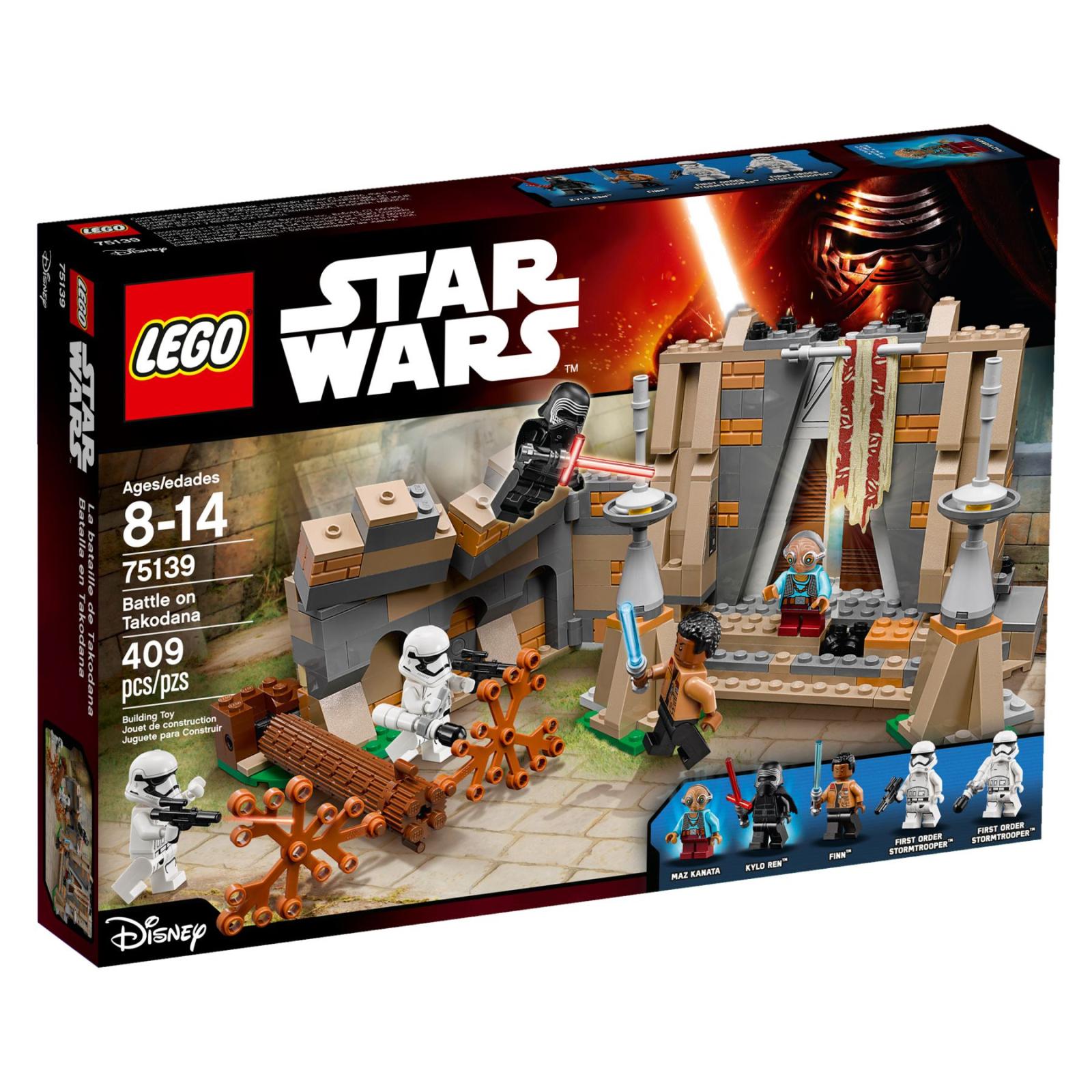 Конструктор LEGO Star Wars Битва на планете Такодана (75139)