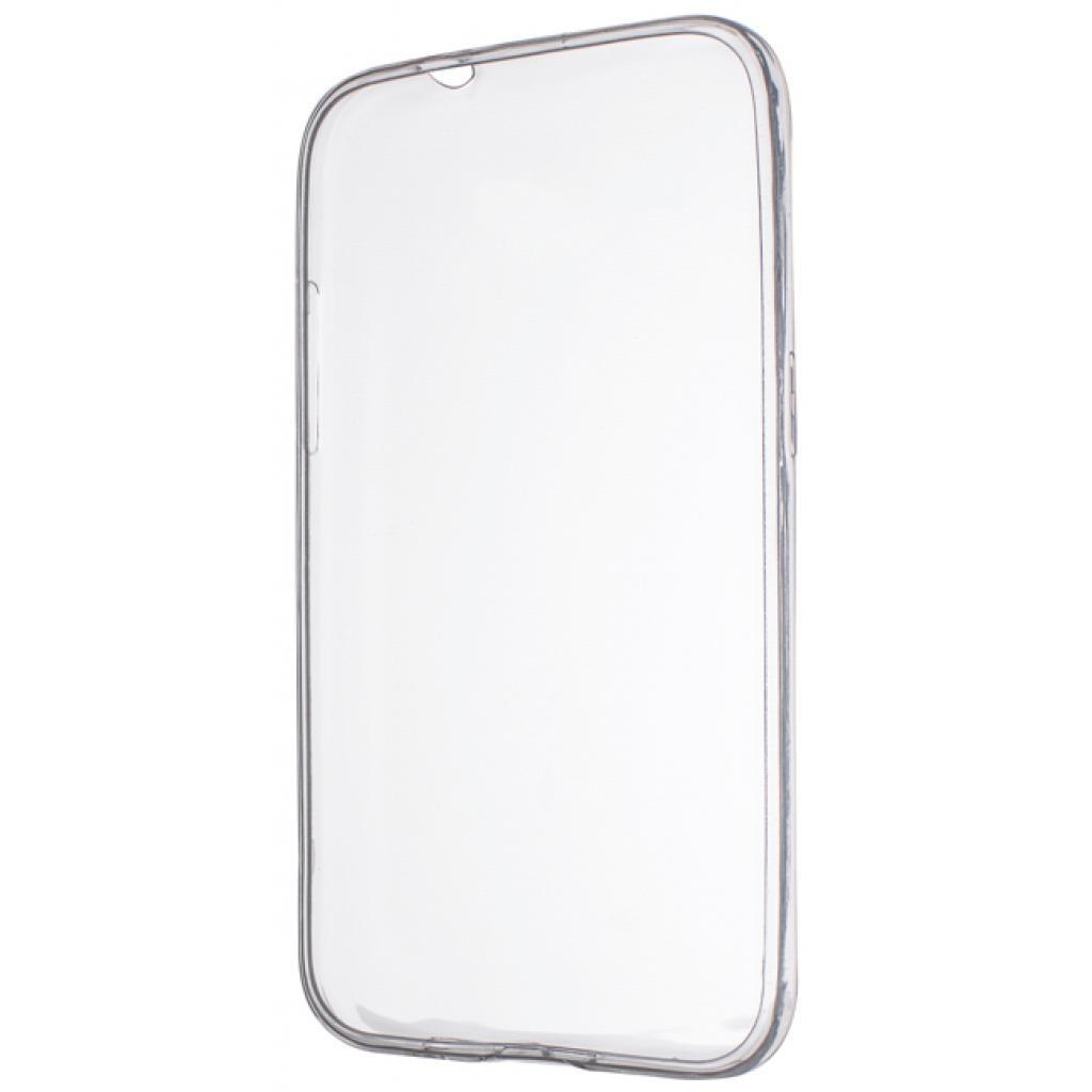 Чехол для моб. телефона Drobak Elastic PU для LG K10 K410 White Clear (215576)