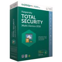 Программная продукция Kaspersky Total Security (Multi-Device) 1+1 Device 1 year Base Box (KL1919OUBFS16)