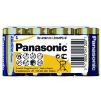Батарейка PANASONIC D LR20 Alkaline Power (Shrink) * 4 (LR14REB/4P)