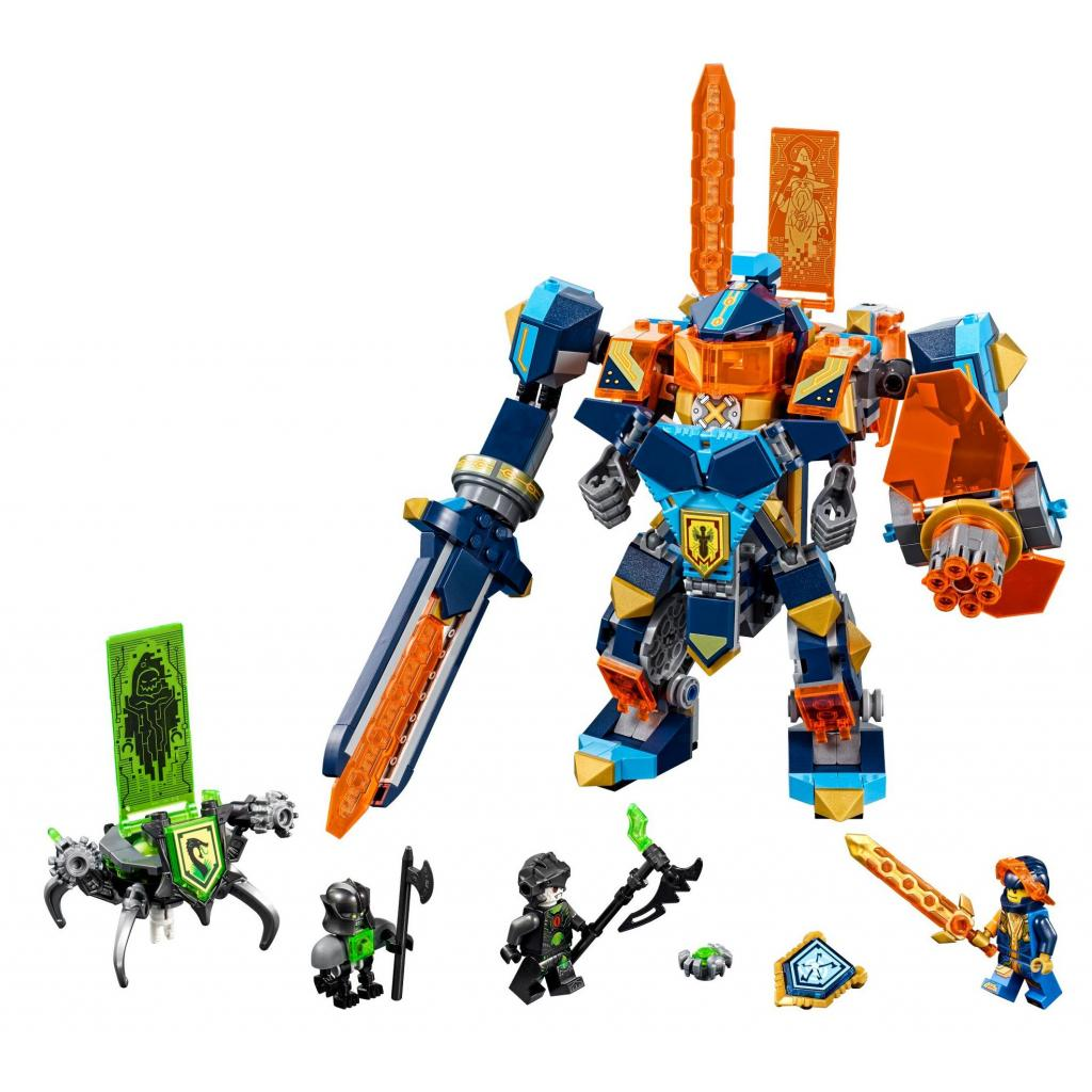Конструктор LEGO Nexo Knights Бой техномагов (72004) изображение 2