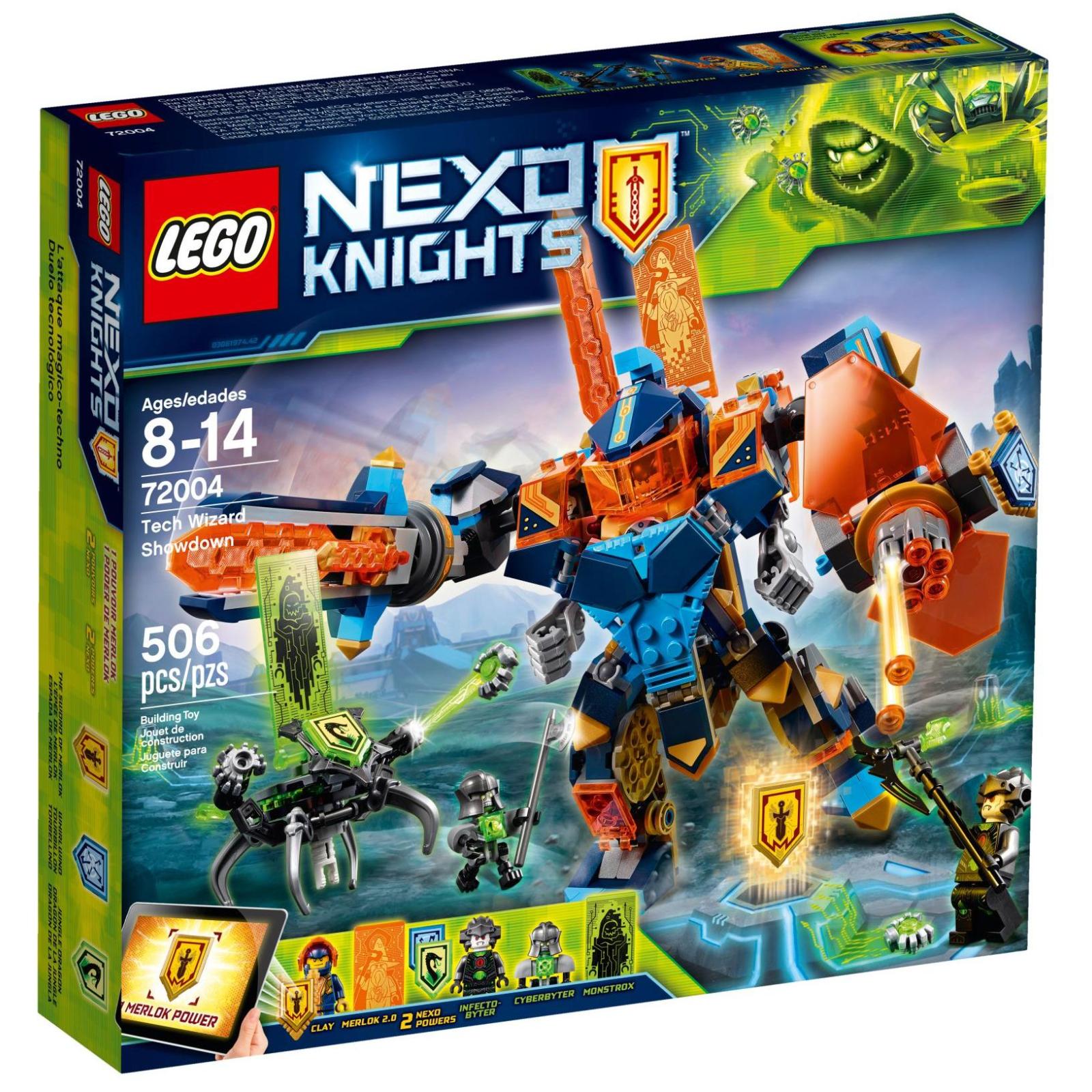 Конструктор LEGO Nexo Knights Бой техномагов (72004)