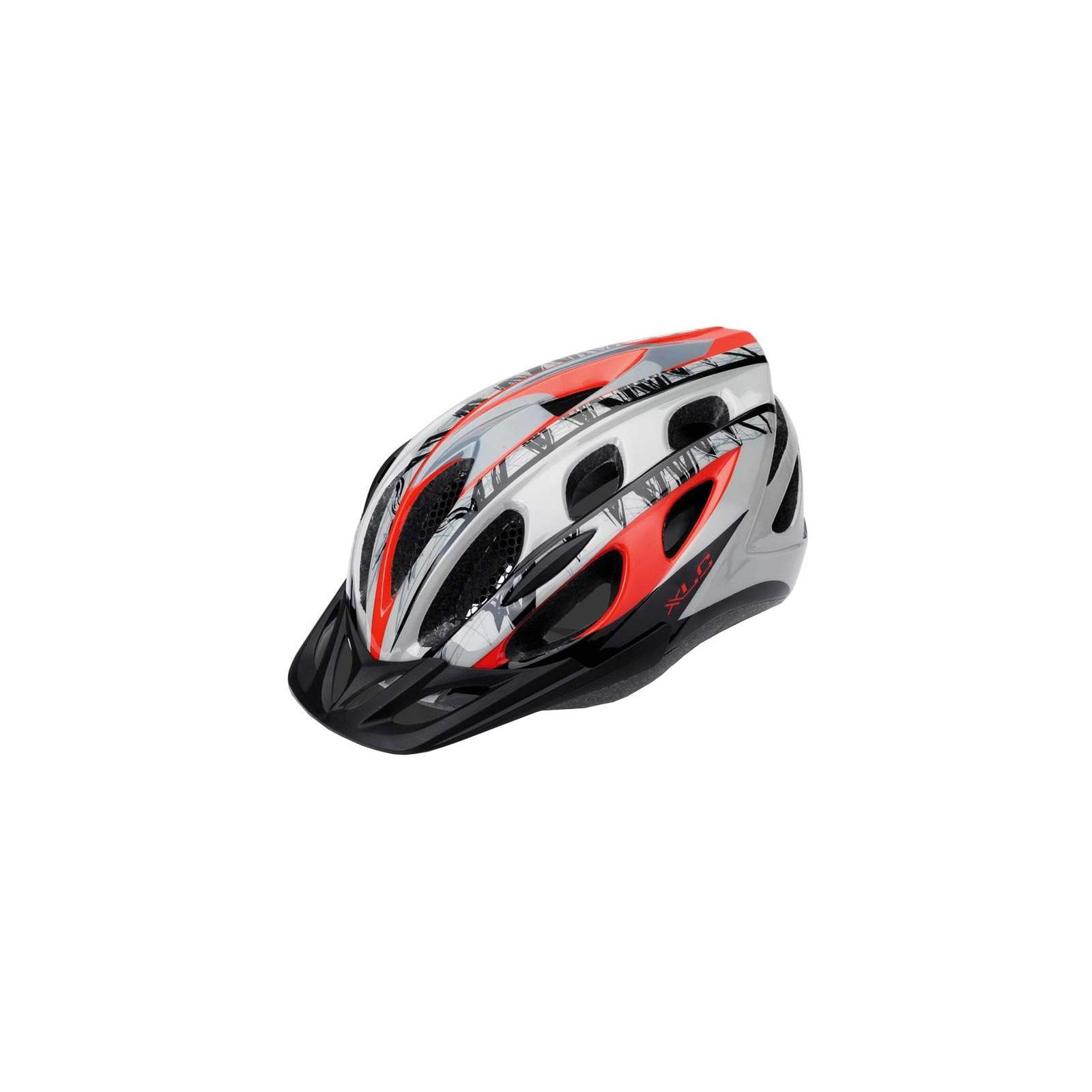 Шлем XLC BH-C18, красно-серый, L/XL (54-58) (2500180041)