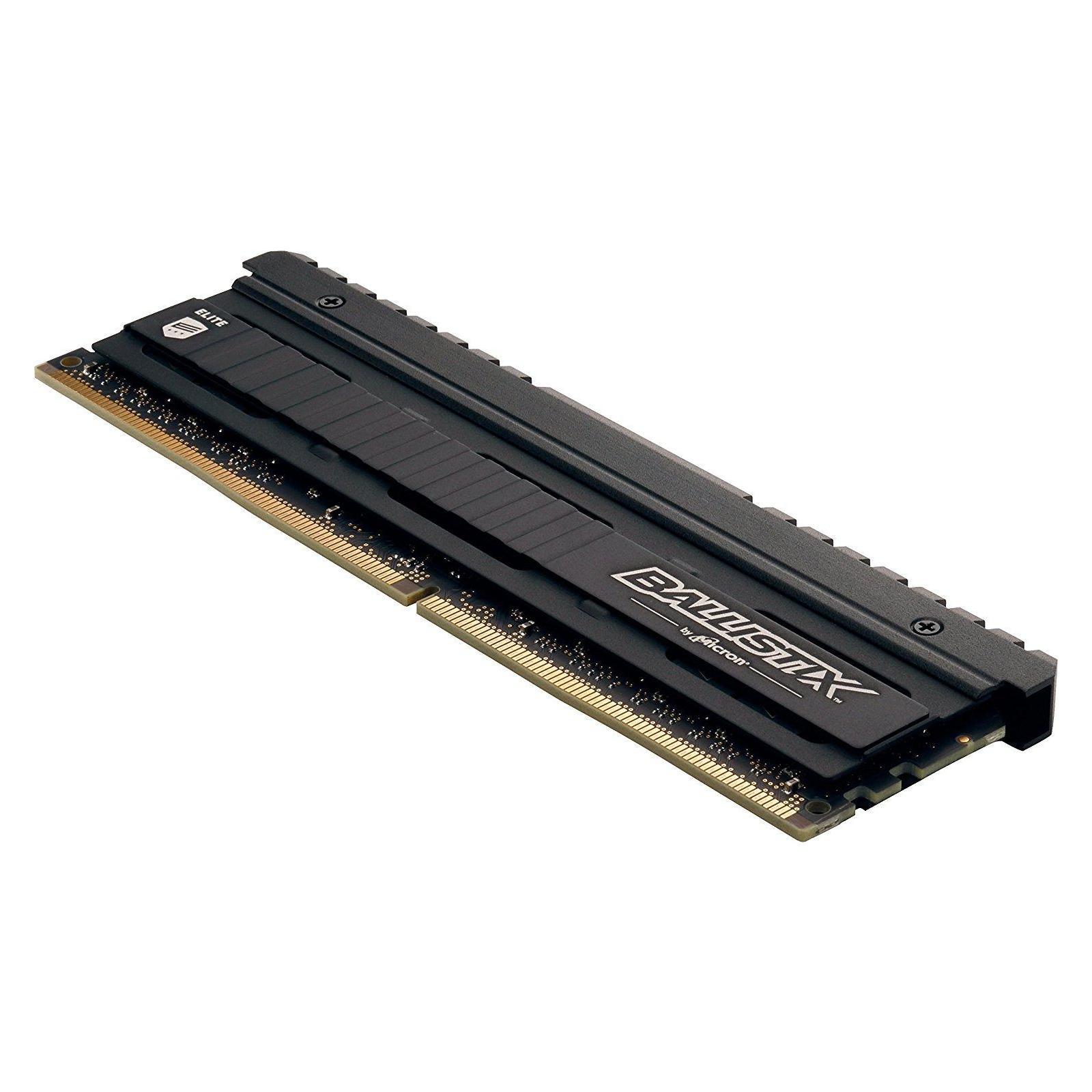 Модуль памяти для компьютера DDR4 16GB (2x8GB) 3200 MHz Ballistix Elite Micron (BLE2C8G4D32BEEAK) изображение 3
