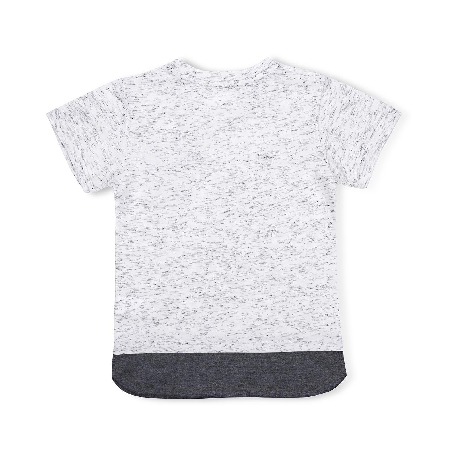 Футболка детская Breeze с карманчиком (11075-140B-gray) изображение 2
