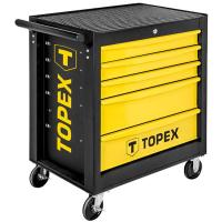 Візок для інструменту Topex 5 ящиков, 680 x 460 x 825 мм, грузоподъемность 280 кг (79R501)