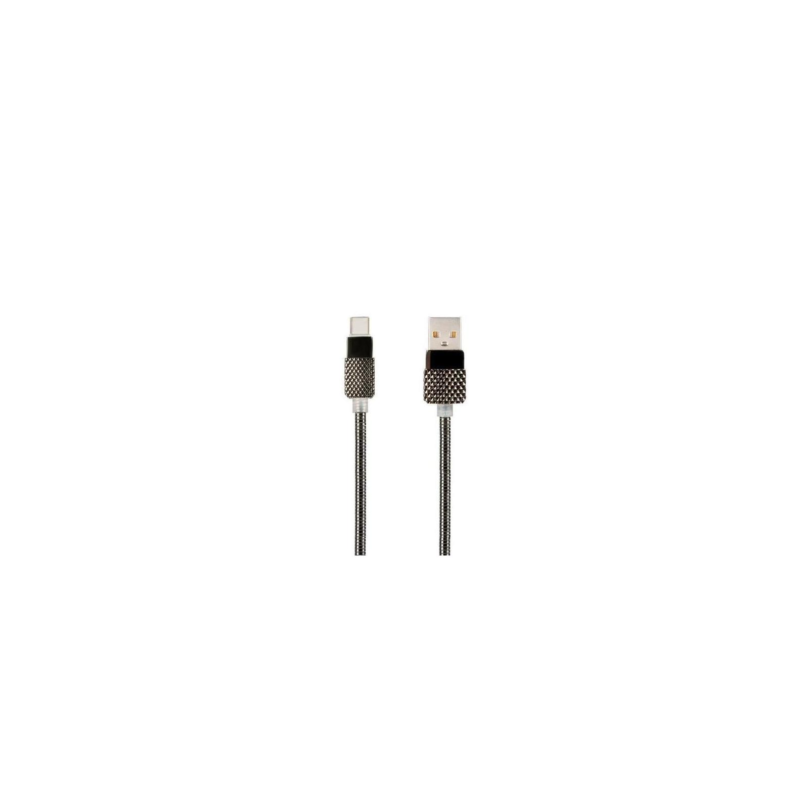 Дата кабель USB 2.0 AM to Type-C Pro Royal 2A Black Gelius (65124)