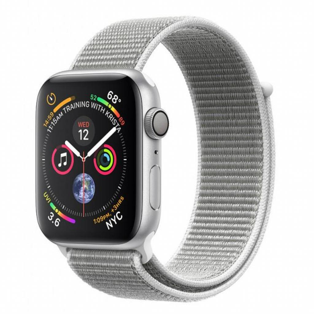 Смарт-часы Apple Watch Series 4 GPS, 44mm Silver Aluminium Case (MU6C2GK/A)