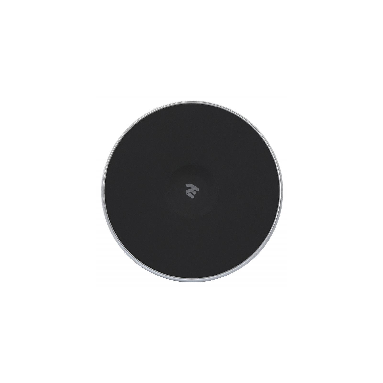 Зарядний пристрій 2E Wireless Charging Pad, 10W, black (2E-WCQ01-02) зображення 2