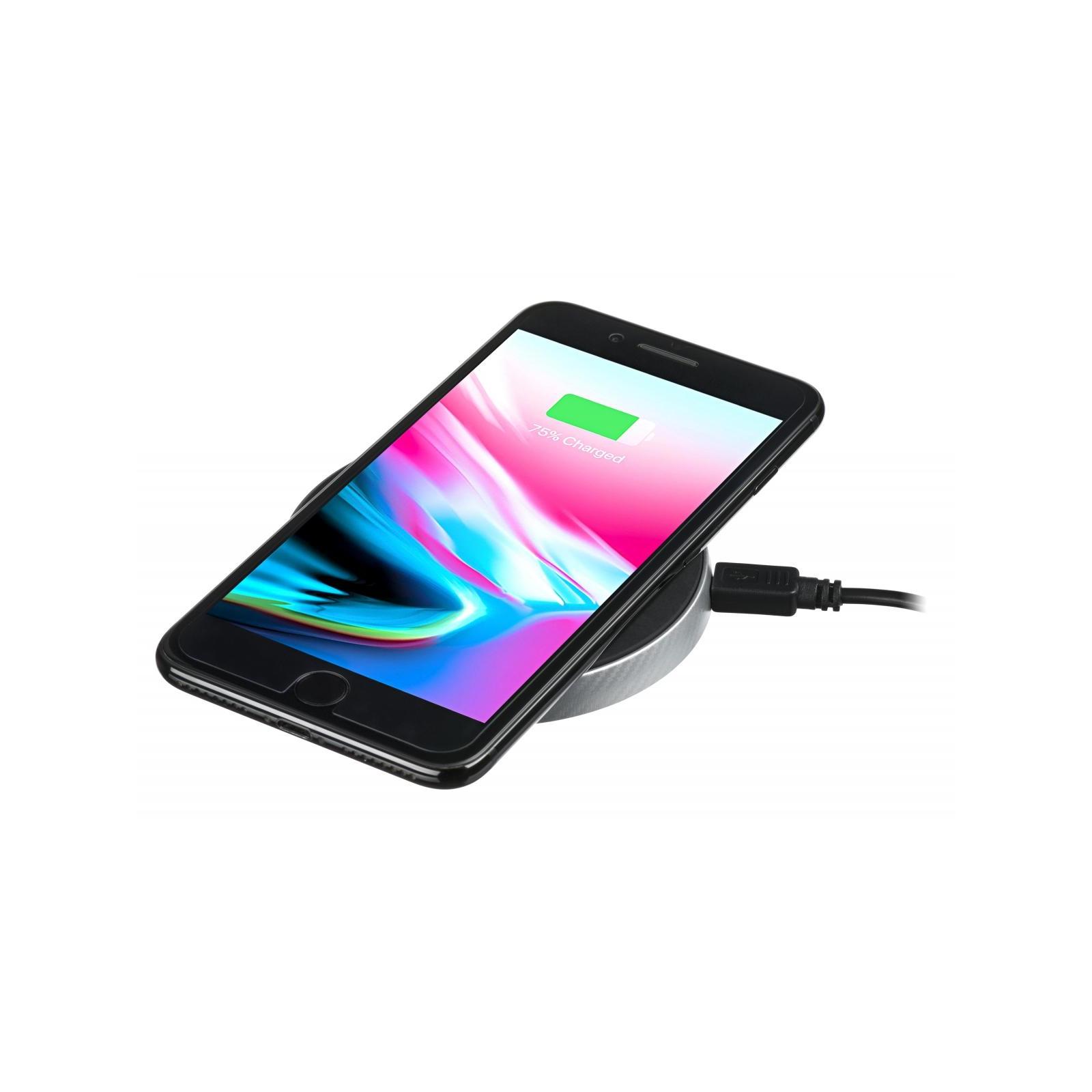Зарядний пристрій 2E Wireless Charging Pad, 10W, black (2E-WCQ01-02) зображення 4