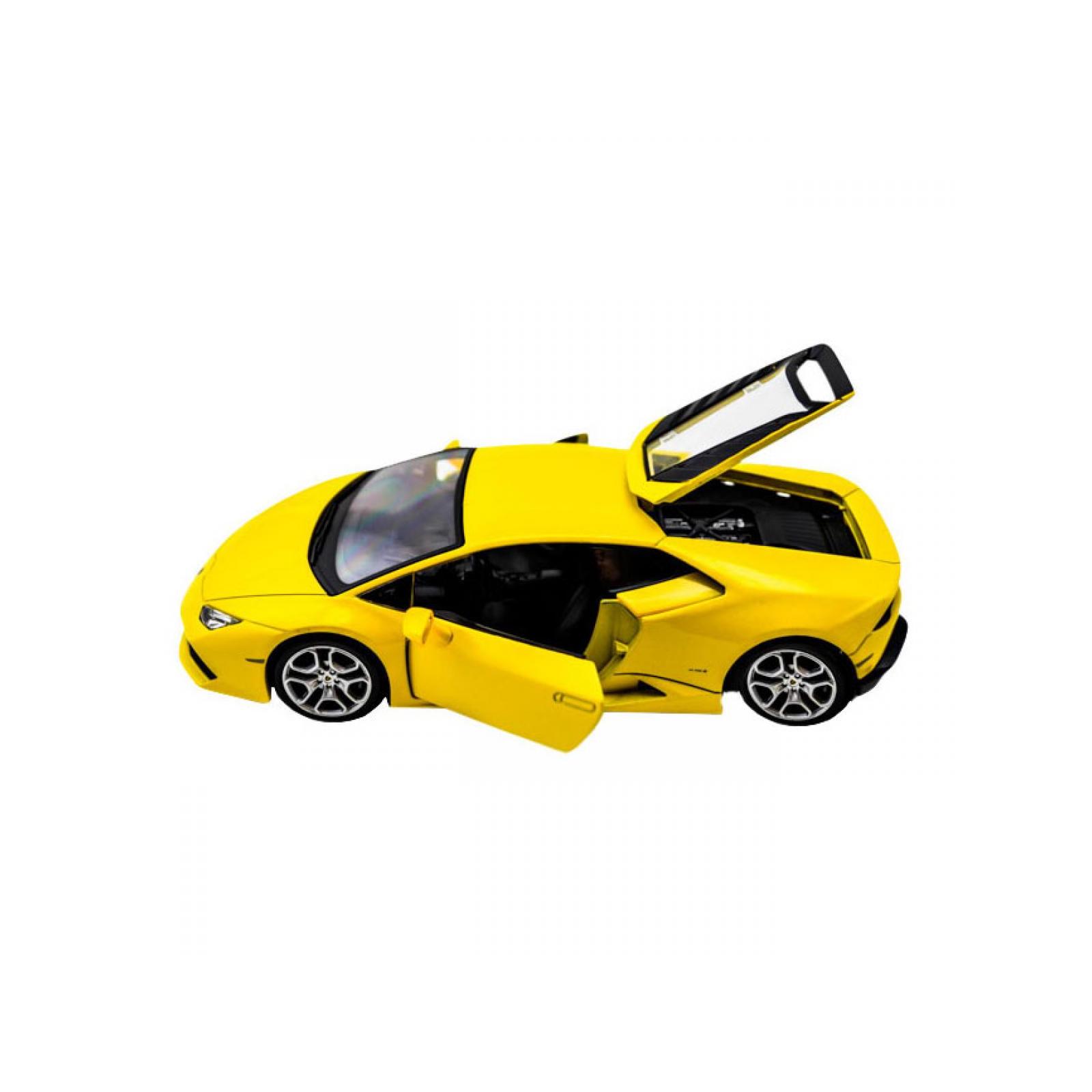 Машина Maisto Lamborghini Huracan LP 610-4 (1:24) желтый (31509 yellow) изображение 3