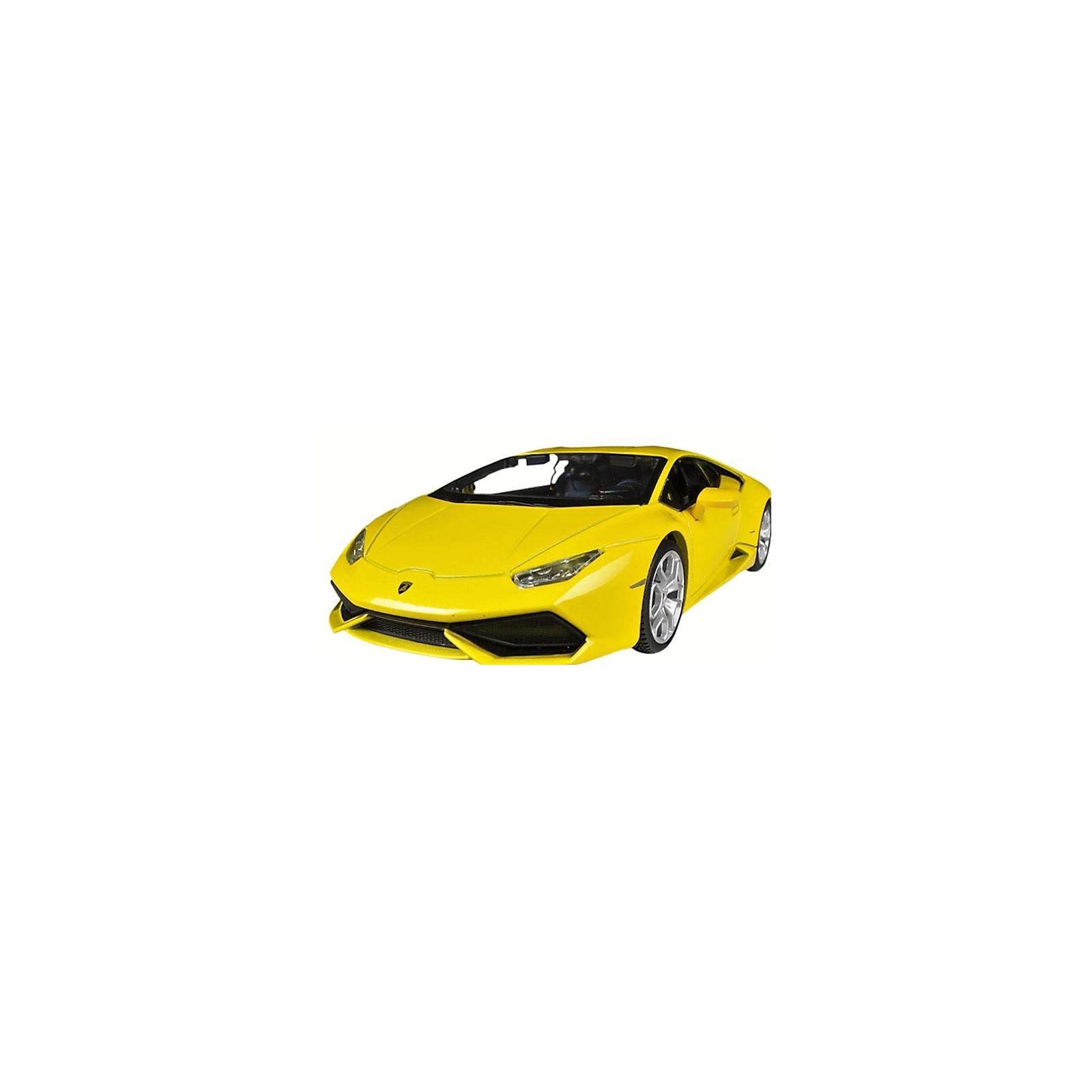 Машина Maisto Lamborghini Huracan LP 610-4 (1:24) желтый (31509 yellow) изображение 4