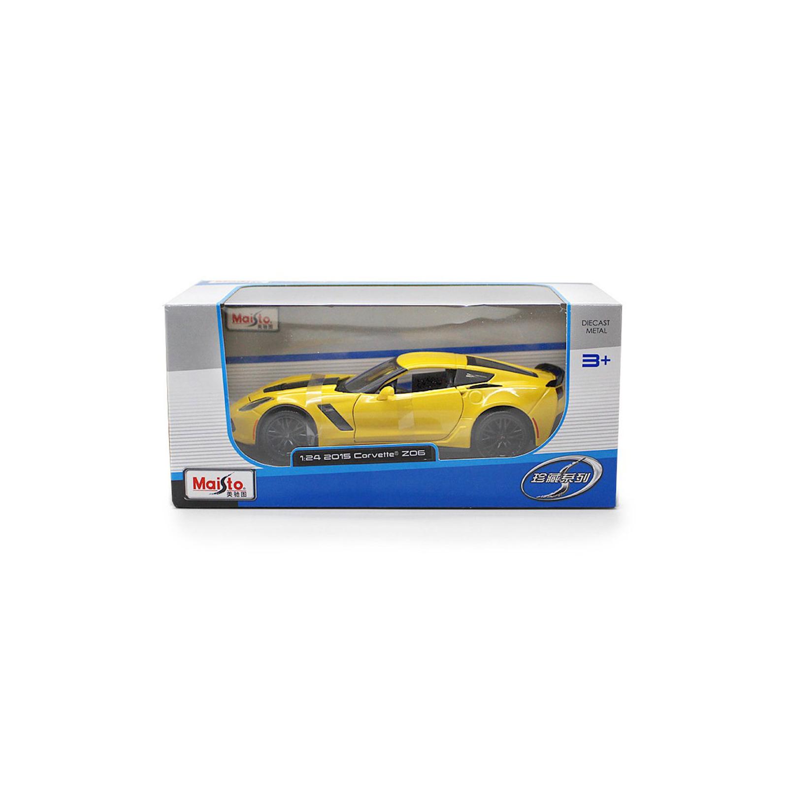 Машина Maisto Lamborghini Huracan LP 610-4 (1:24) желтый (31509 yellow) изображение 5