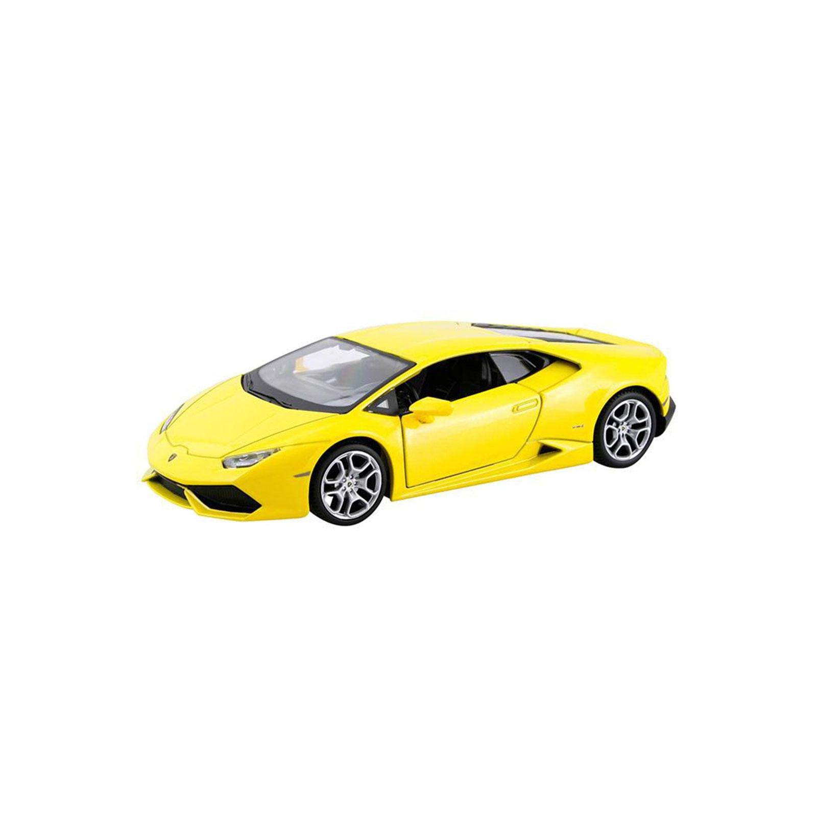 Машина Maisto Lamborghini Huracan LP 610-4 (1:24) желтый (31509 yellow)