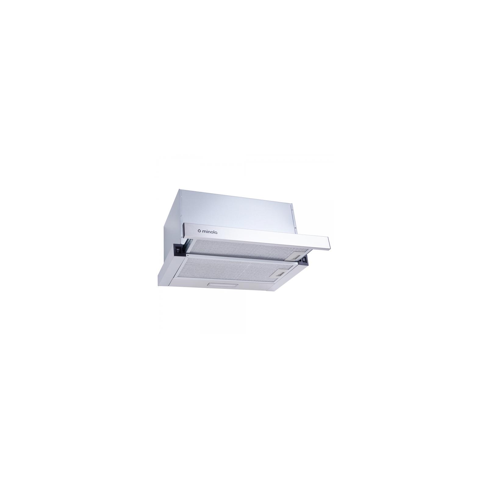Вытяжка кухонная Minola HTL 5314 WH 750 LED изображение 2