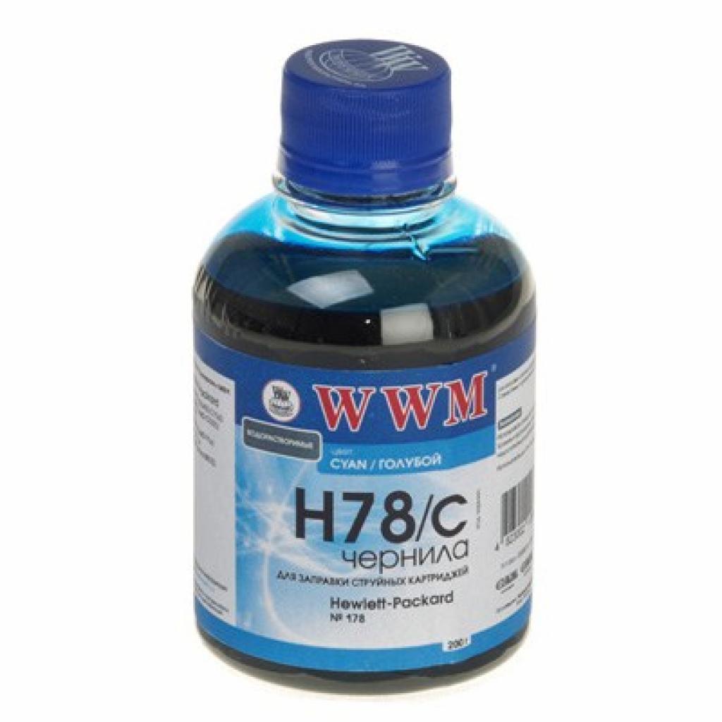 Чернила WWM HP №178 Cyan (H78/C)