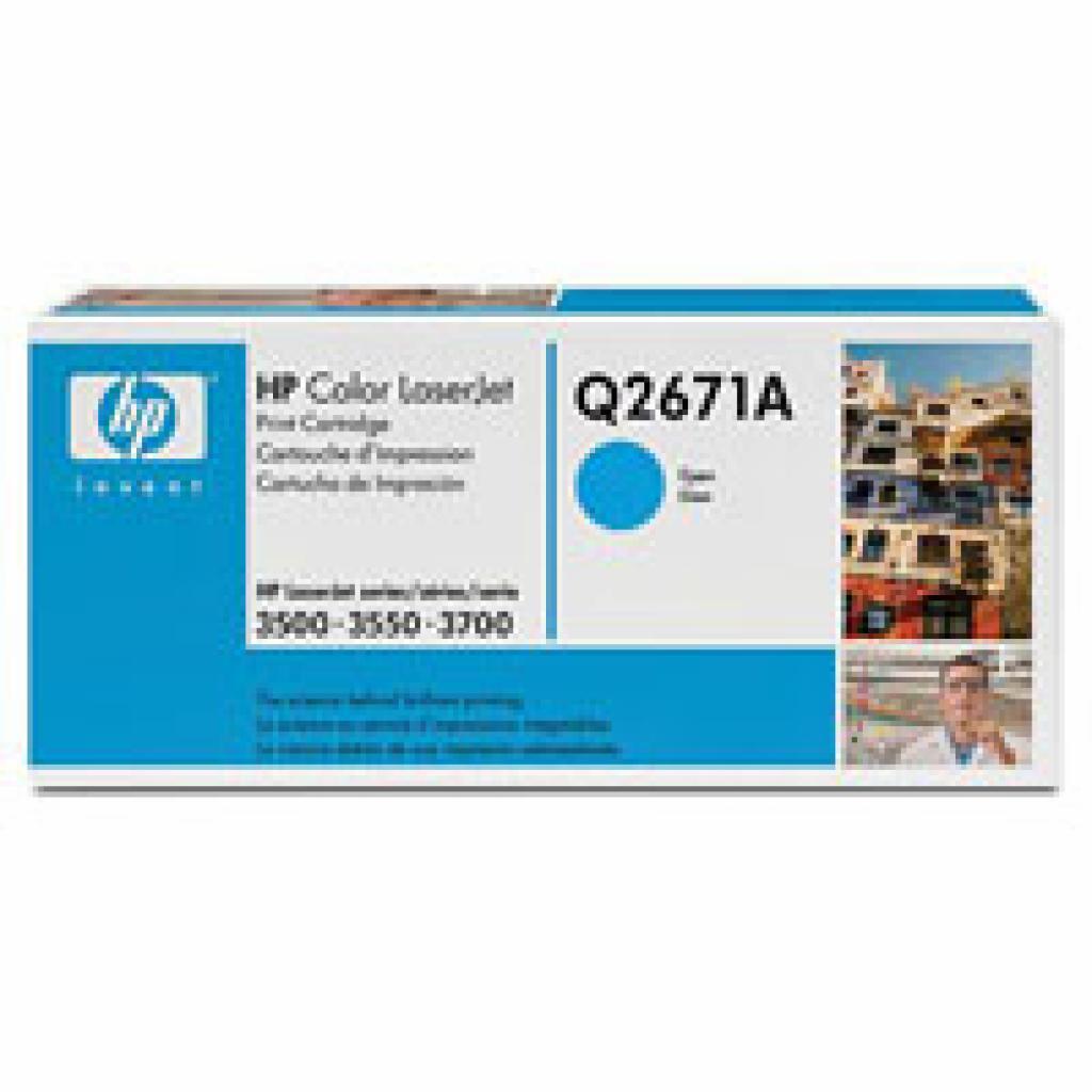 Картридж HP CLJ 3500/3550 cyan (Q2671A)