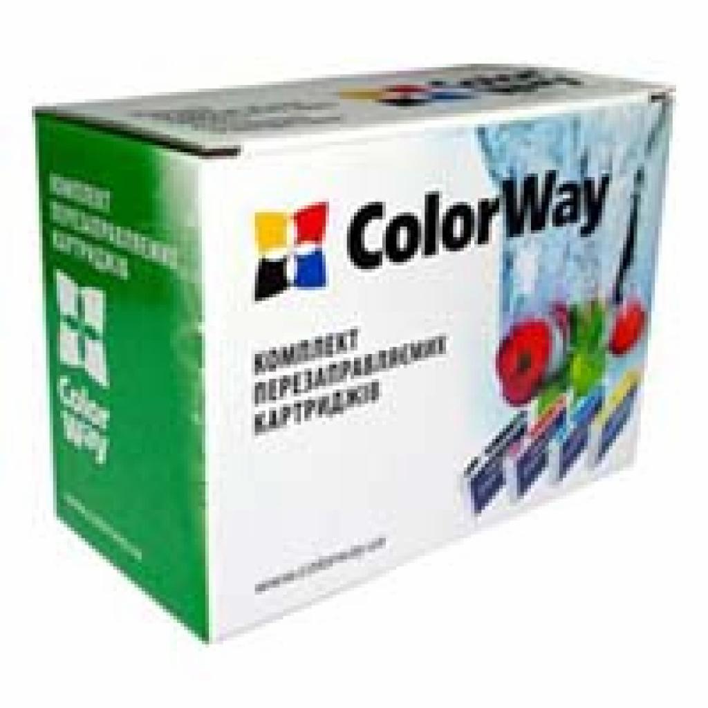 Комплект перезаправляемых картриджей ColorWay Epson TX650/T50/R290 (6х100мл) (T50RC-6.1)