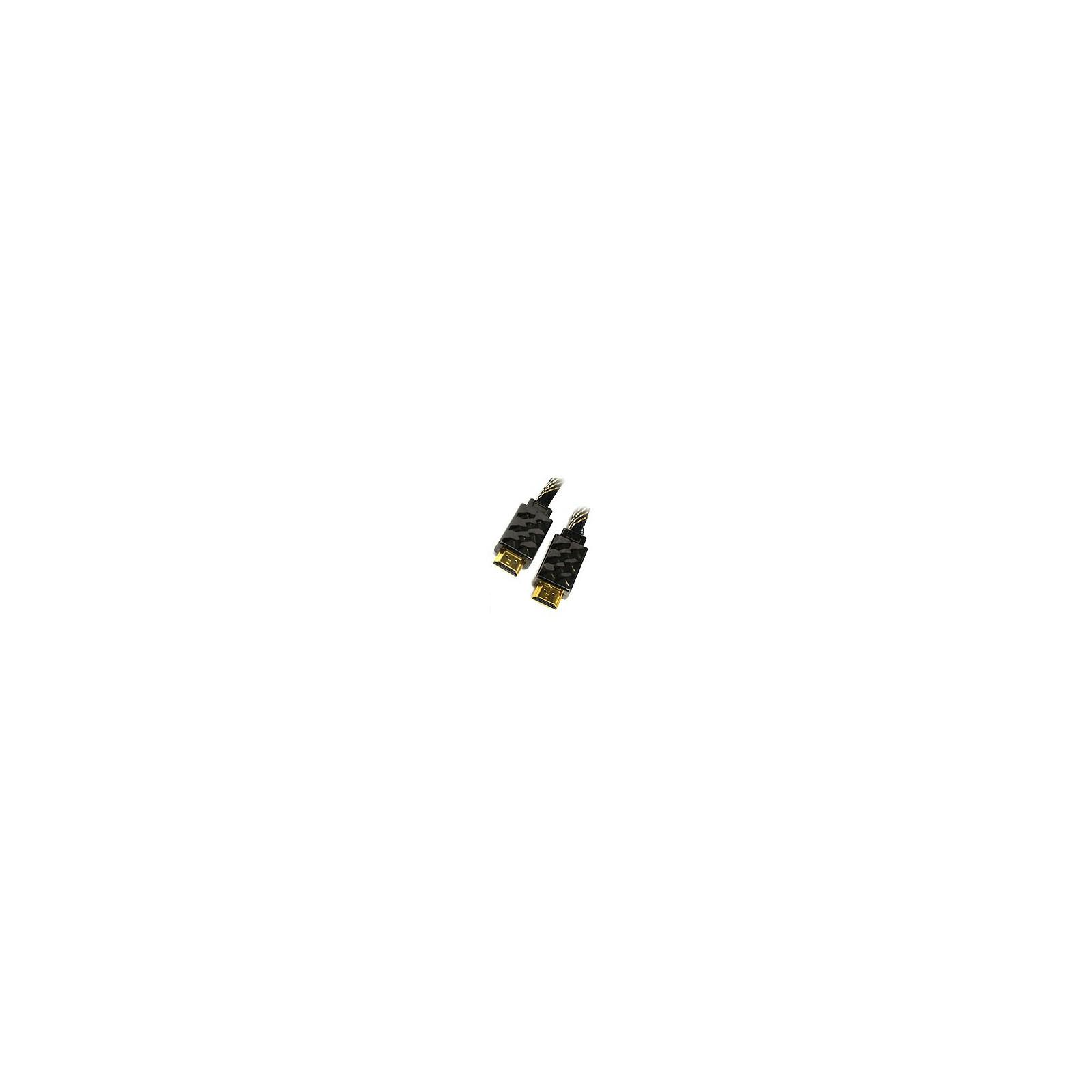 Кабель мультимедийный HDMI to HDMI 2.0m Viewcon (VD 515-2м.)